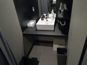 ゴリラクリニック渋谷院の洗面台の写真